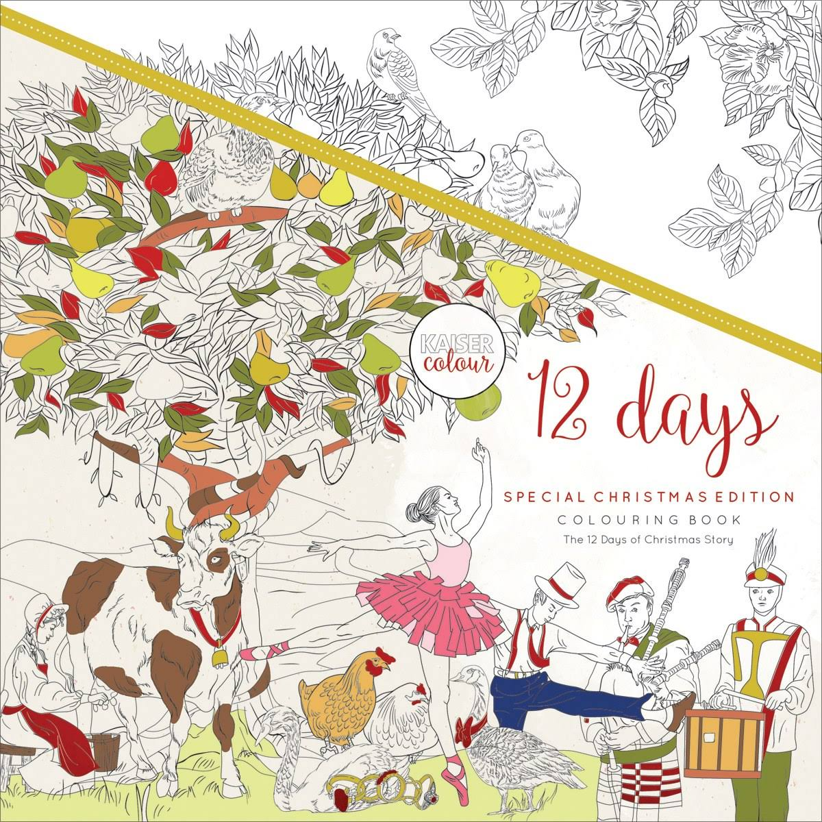 12 Days: Kaisercolour: Colouring Book [Book]