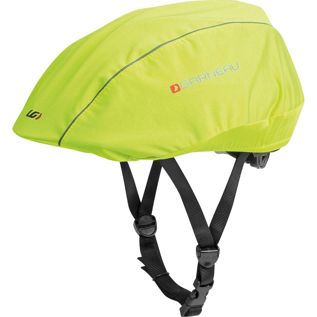 Louis Garneau H2 Helmet Cover: Bright Yellow LG/XL