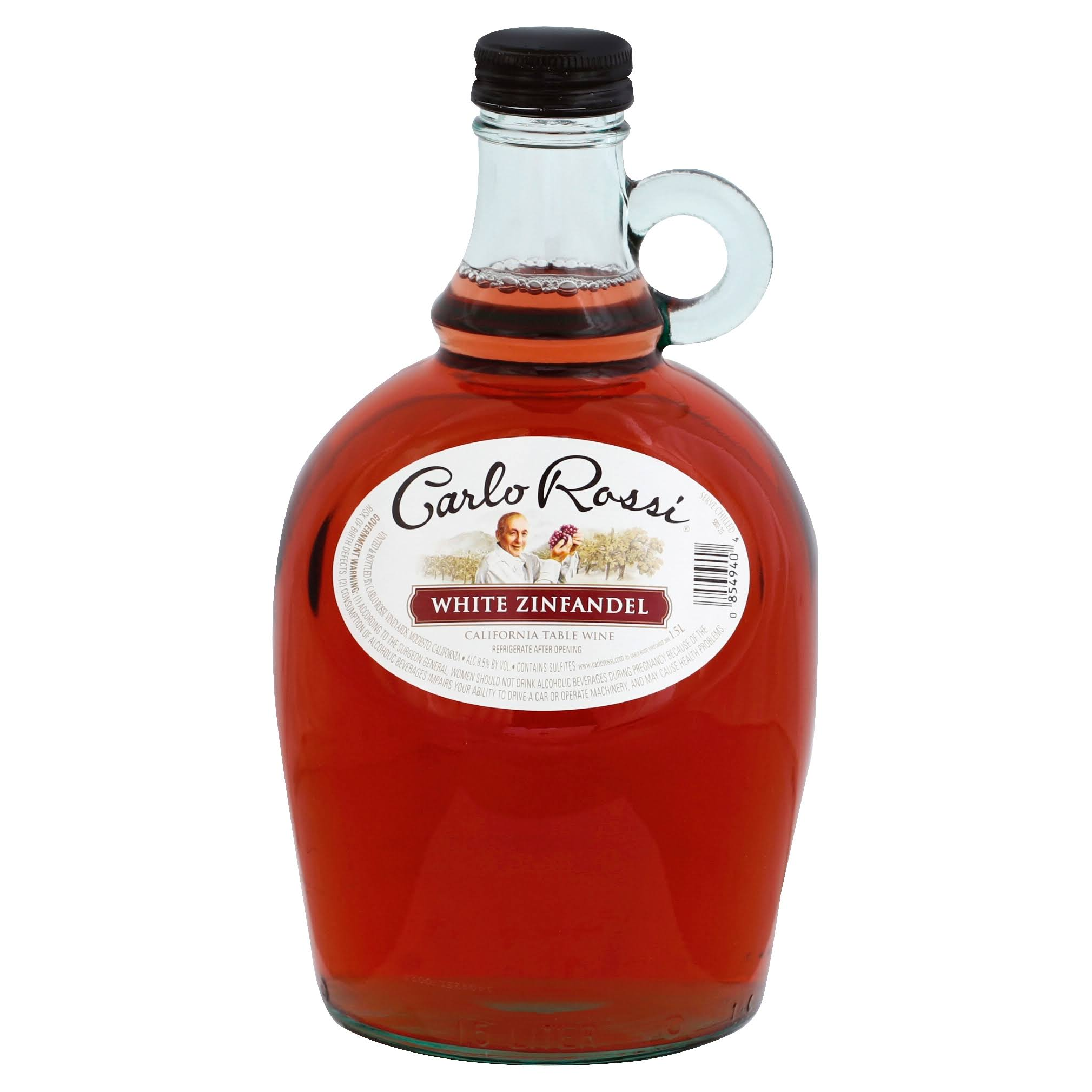 Carlo Rossi White Zinfandel, California Table Wine - 1.5 l
