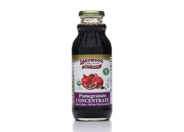 Lakewood Organic 100 Percent Fruit Juice Concentrate - Pomegranate, 12.5oz