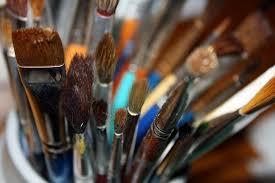 school-wide arts integration program paintbrushes