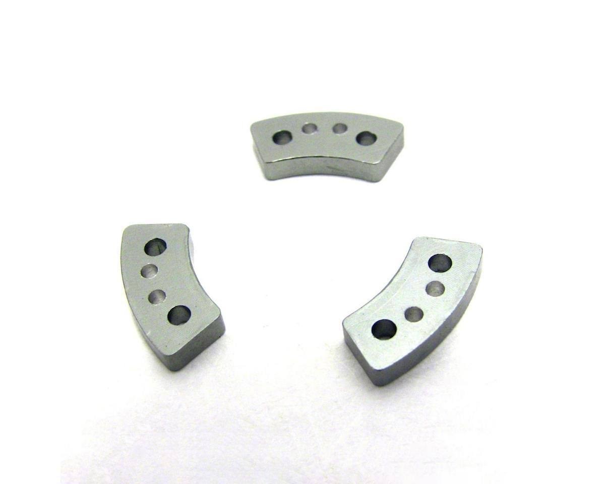 Hot Racing Traxxas Aluminum Hard Anodized Slipper Clutch Pads - 3pk