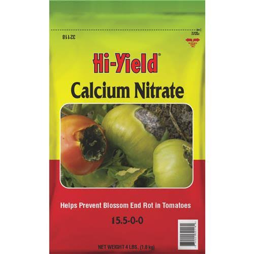 Hi-Yield 32118 Calcium Nitrate Tomato Plant Food - 4lbs