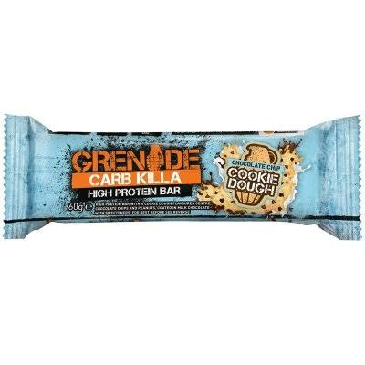 Grenade Carb Killa High Protein Bar - Chocolate Chip Cookie Dough, 60g