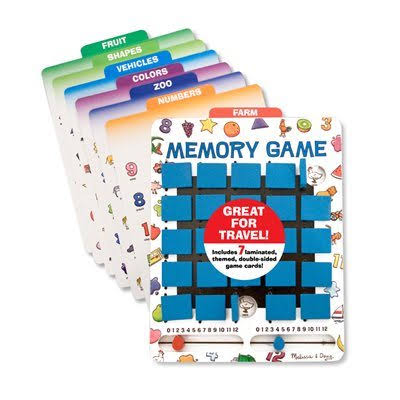 Flip to Win Wooden Memory Game