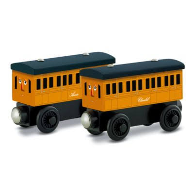 Fisher Price Thomas Wooden Railway - Annie & Clarabel
