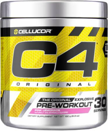 Cellucor C4 Pre-Workout Supplement - 30 Servings, Pink Lemonade