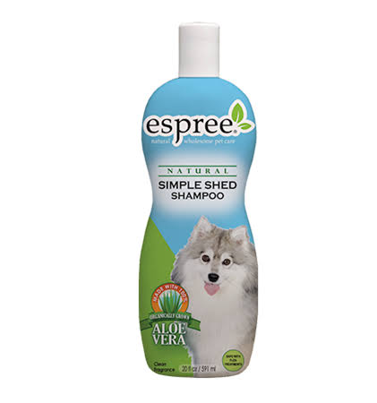 Espree Natural Simple Shed Pet Shampoo - 20 oz