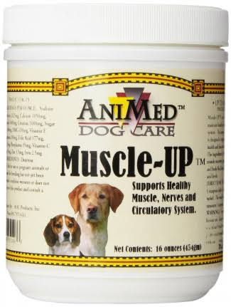 AniMed Dog Care Muscle-up Muscle up Powder Supplement - 16oz