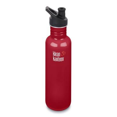 Klean Kanteen Water Bottle - Mineral Red, Stainless Steel, 27oz