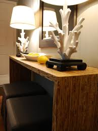 Coral Colored Decorative Items by Decorating With Floor And Table Lamps Hgtv