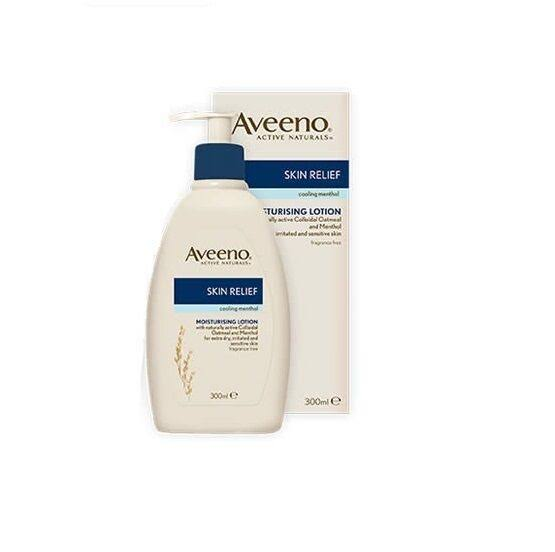 Aveeno Skin Relief Moisturising Lotion with Menthol - 300ml