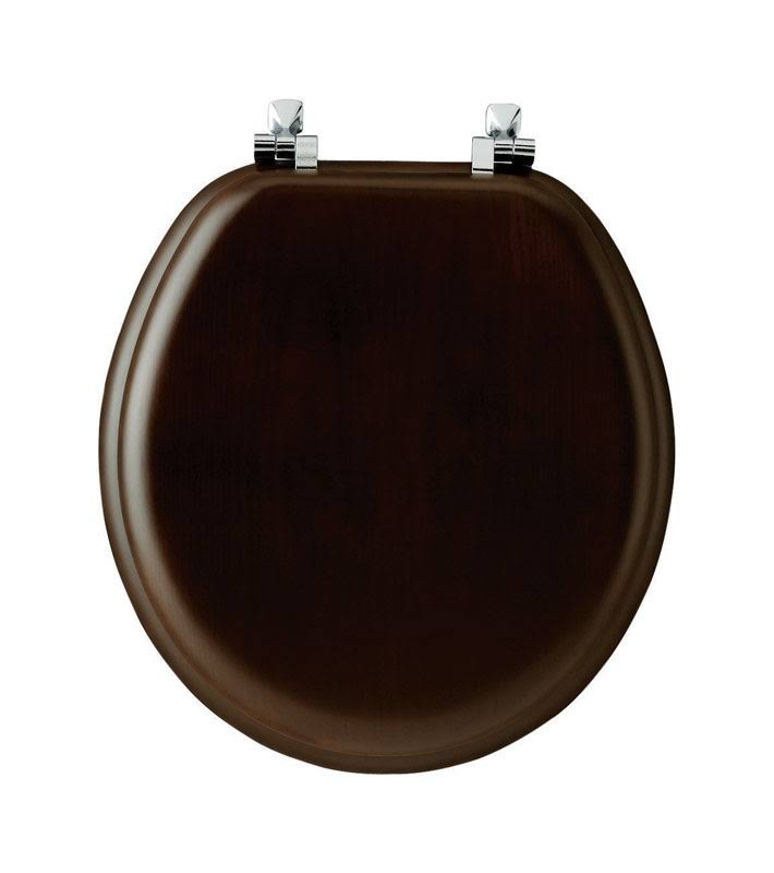 Bemis Natural Reflections Wood Toilet Seat - Walnut