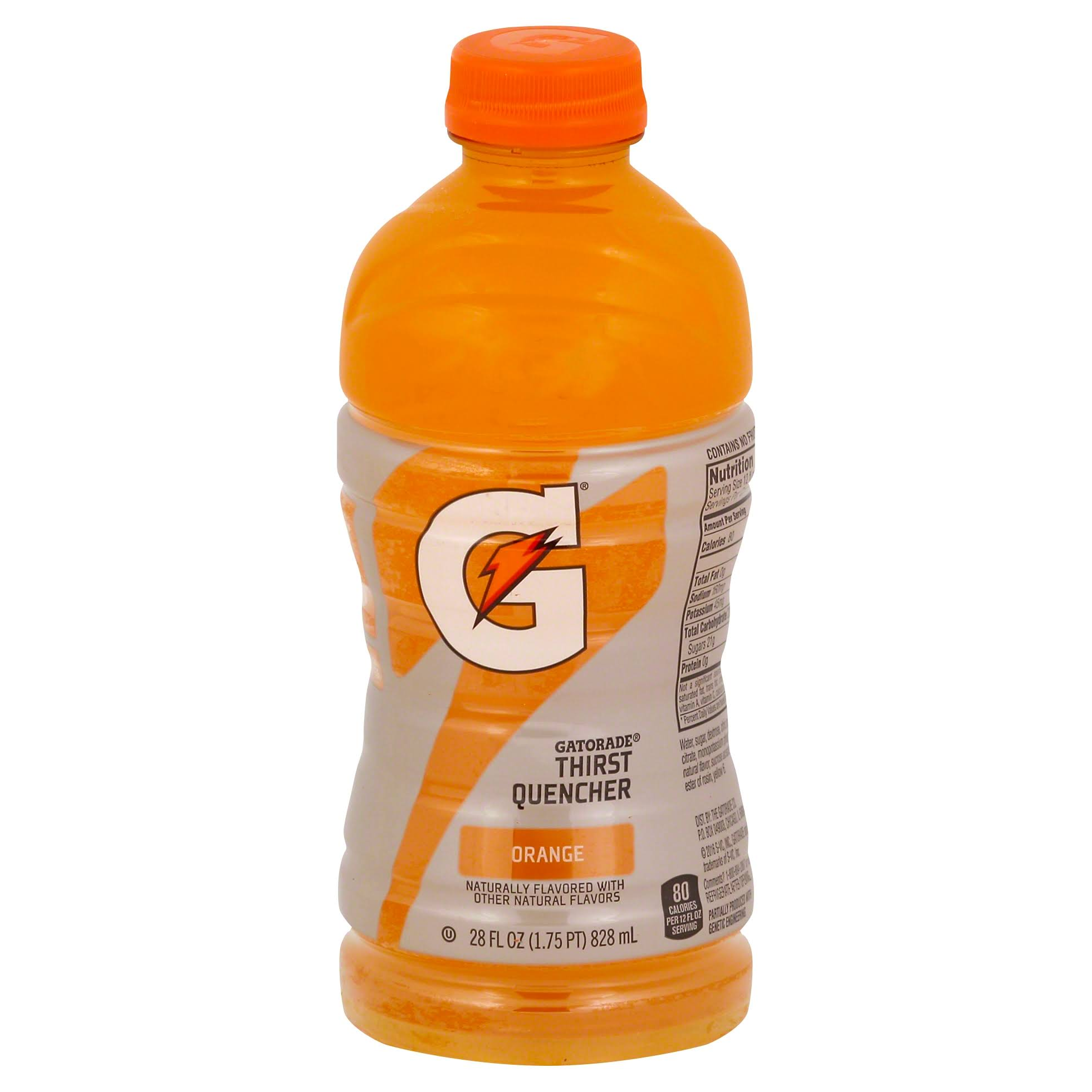 Gatorade Orange Thirst Quencher 28 Fld Oz Bottle