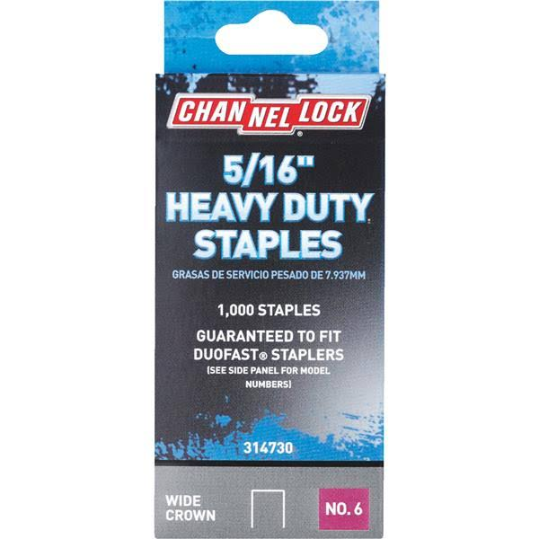 "Do It Heavy Duty Staples - 5/16"", 1000ct"