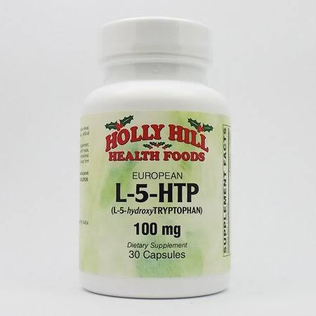 Holly Hill Health Foods, L-5-HTP 100 mg, 30 Capsules