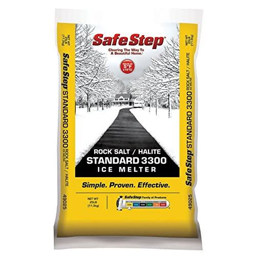 Safe Step Standard Rock Salt - 25lb
