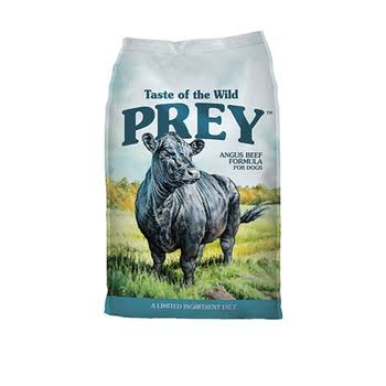 Taste of The Wild 25 lb Prey Angus Beef Dog Food