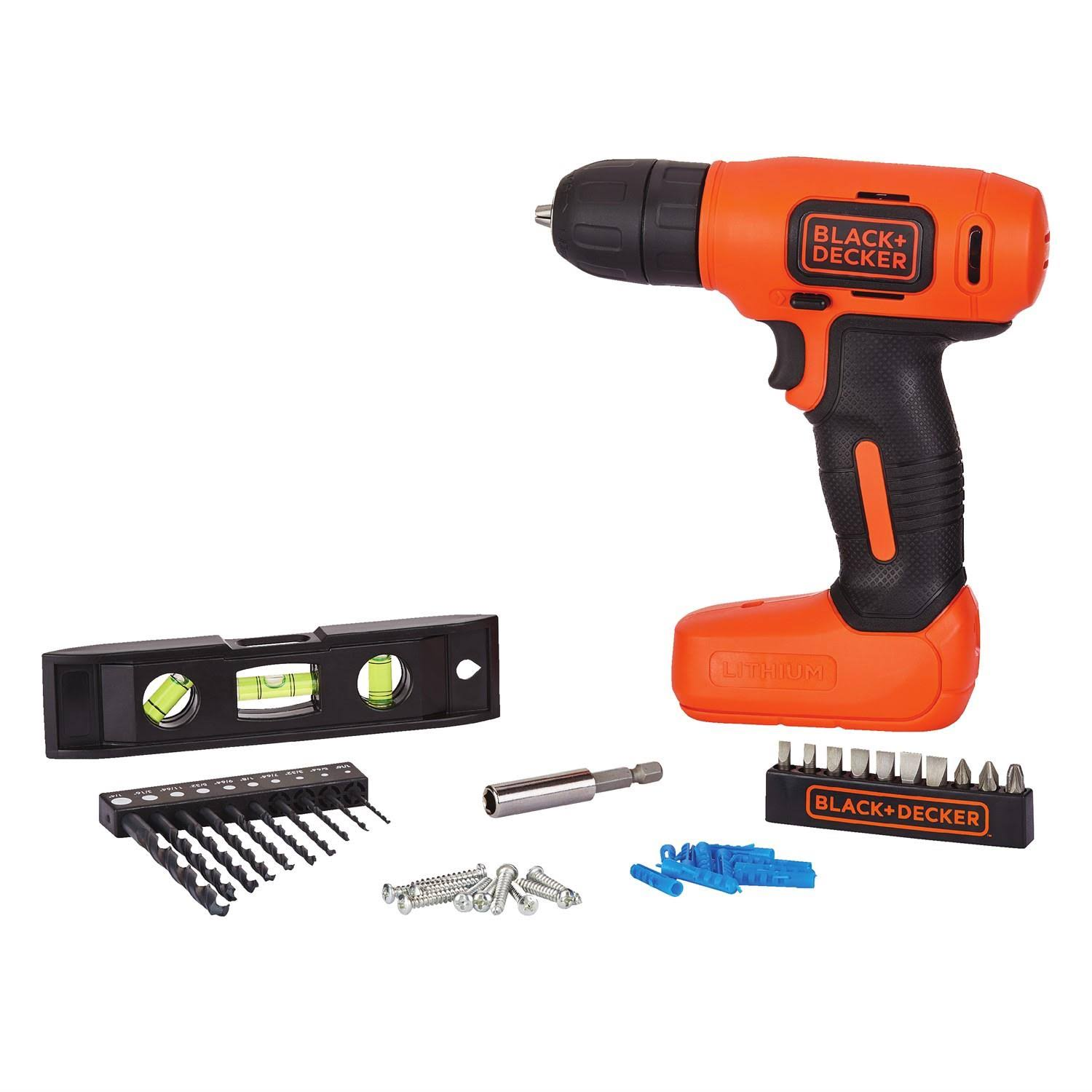 Black & Decker Home Project Kit - 8V