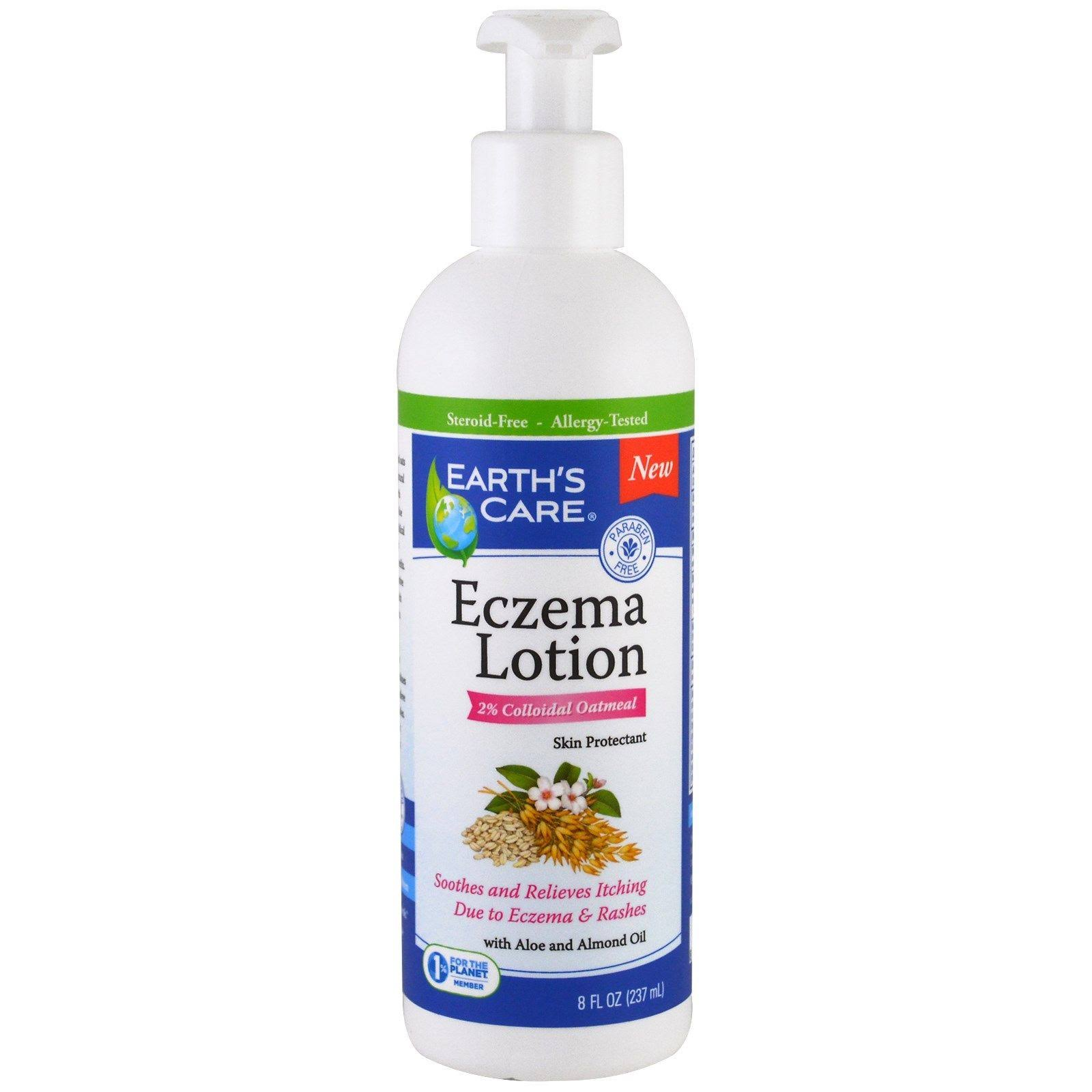 Earth's Care Eczema Lotion - 8oz