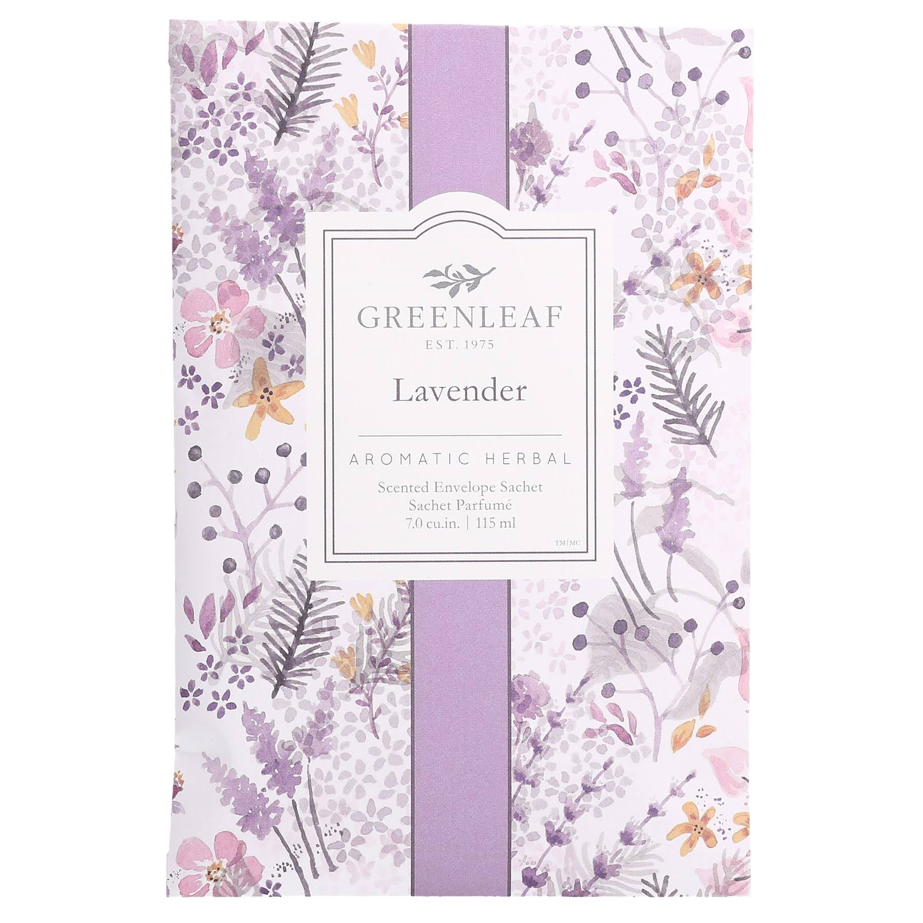 Greenleaf Lavender Fragrance Sachet 115ml