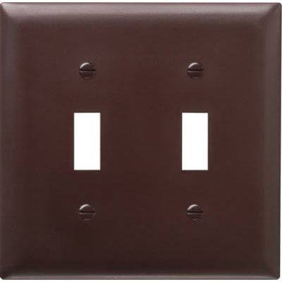 Pass & Seymour Wall Plate - Brown
