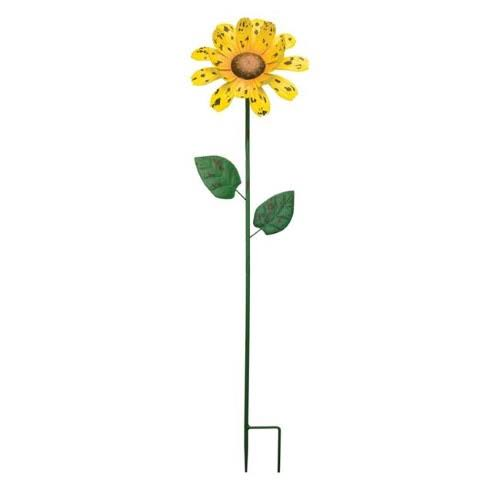 Regal Art & Gift REGAL11625 36 in. Rustic Flower Stake, Marigold