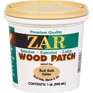 ZAR Stain Removal Wood Patch - Red Oak, 1 Quart