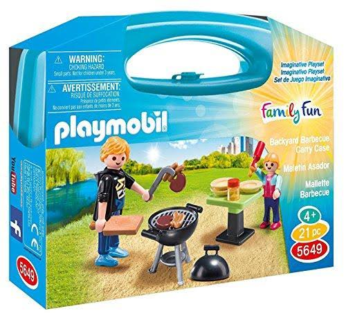 Playmobil Barbecue Carry Case Play Set