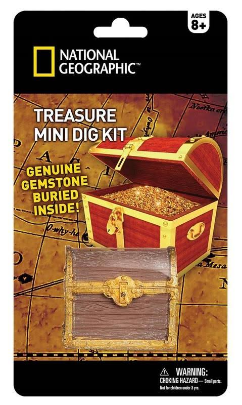 National Geographic Treasure Mini Dig Kit