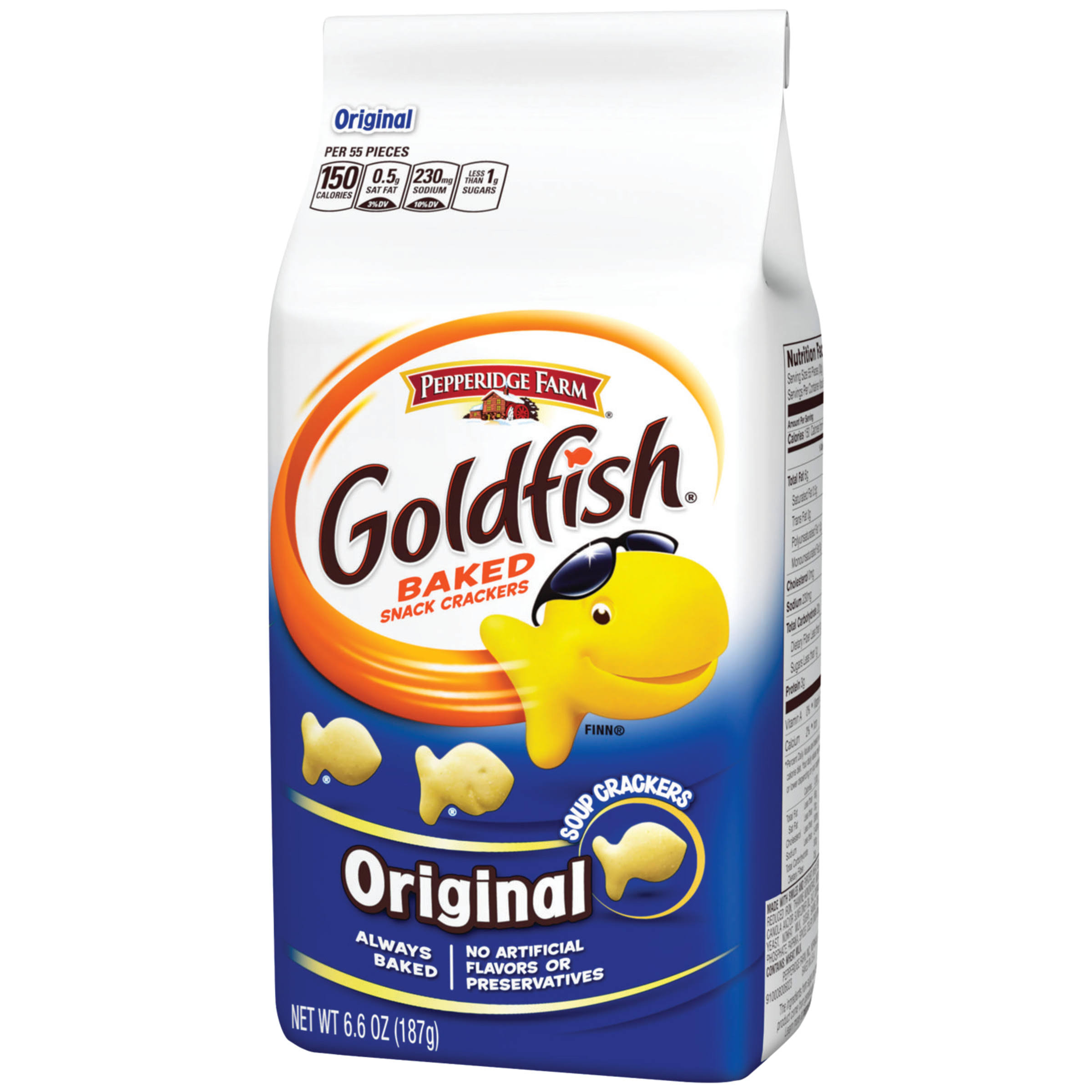 Pepperidge Farm Goldfish Original Baked Snack Crackers - 6.6oz