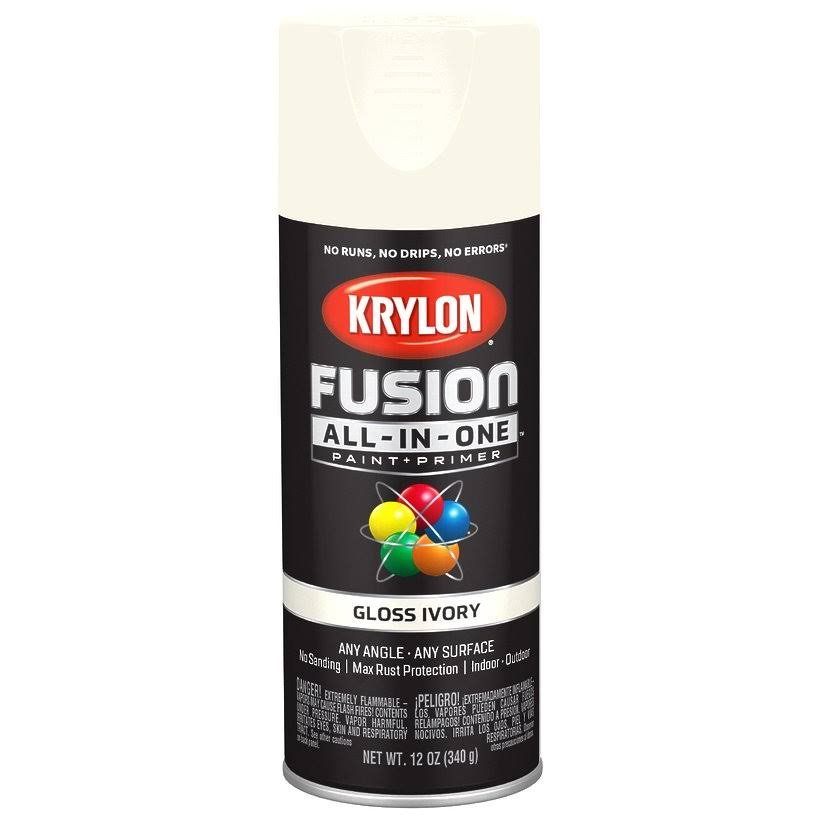 Krylon Fusion All in One Spray Paint & Primer - 12oz