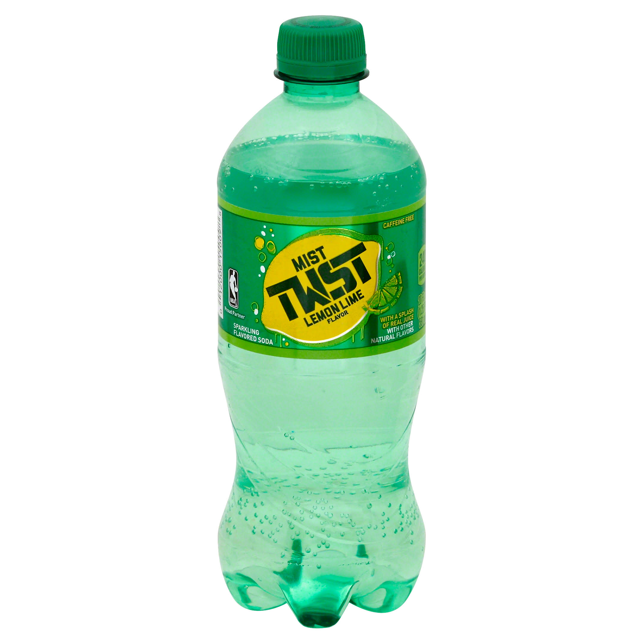 Mist Twst Lemon Lime Flavor Soda - 20oz