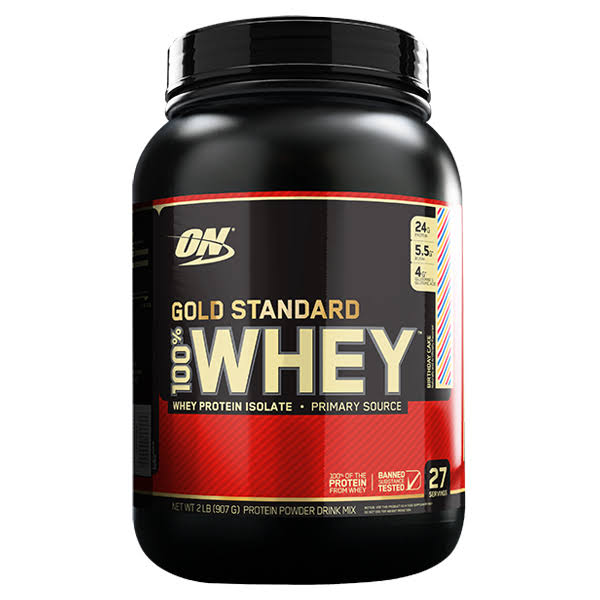 Optimum Nutrition 100% Whey Protein - Gold Standard Blueberry, 2lb