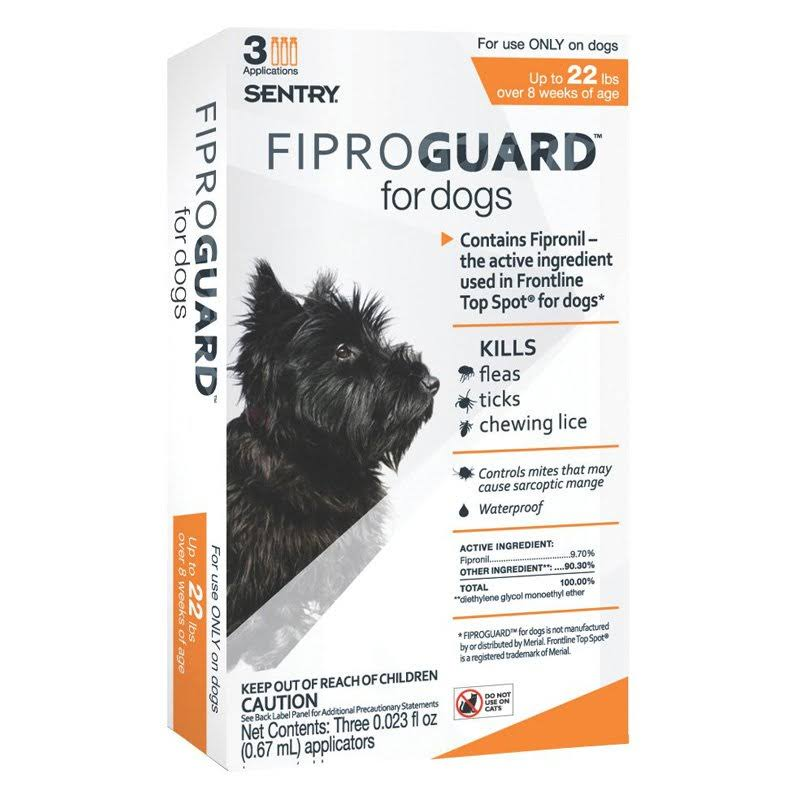 Sentry FiproGuard Topical Flea and Tick Dog Treatment - 2.01ml