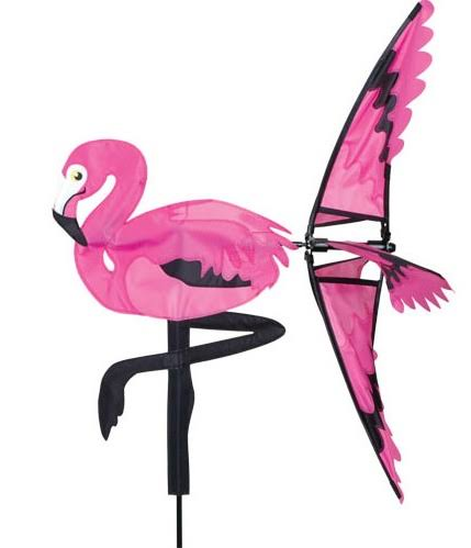 Premier Designs Wind Spinner - Pink Flamingo, 21""
