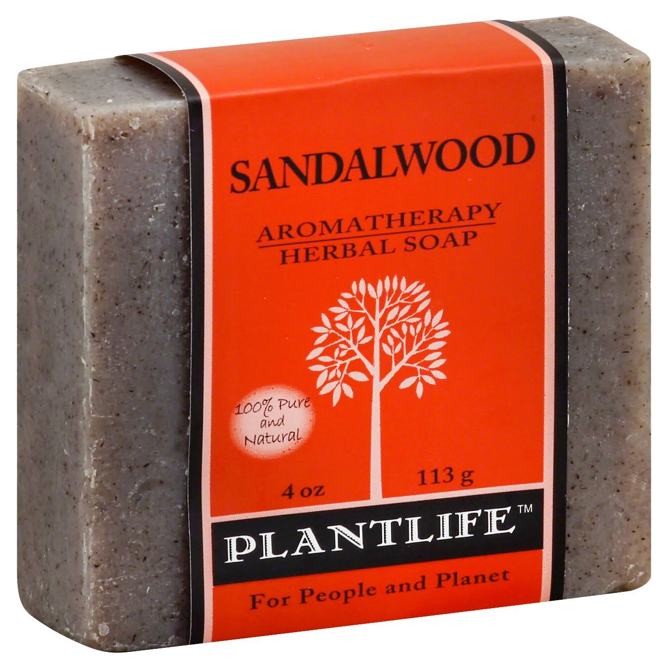 Plantlife Aromatherapy Herbal Soap - Sandalwood