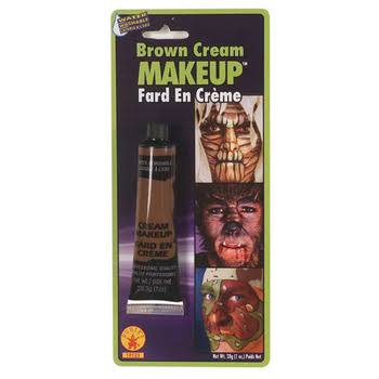 Rubie's Costume Co Cream Make-Up Costume - Brown, 1oz