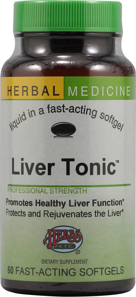 Herbs Etc Liver Tonic Supplement - 60ct