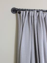 No Drill Window Curtain Rod by Easy Diy Curtain Rods Chaotically Creative