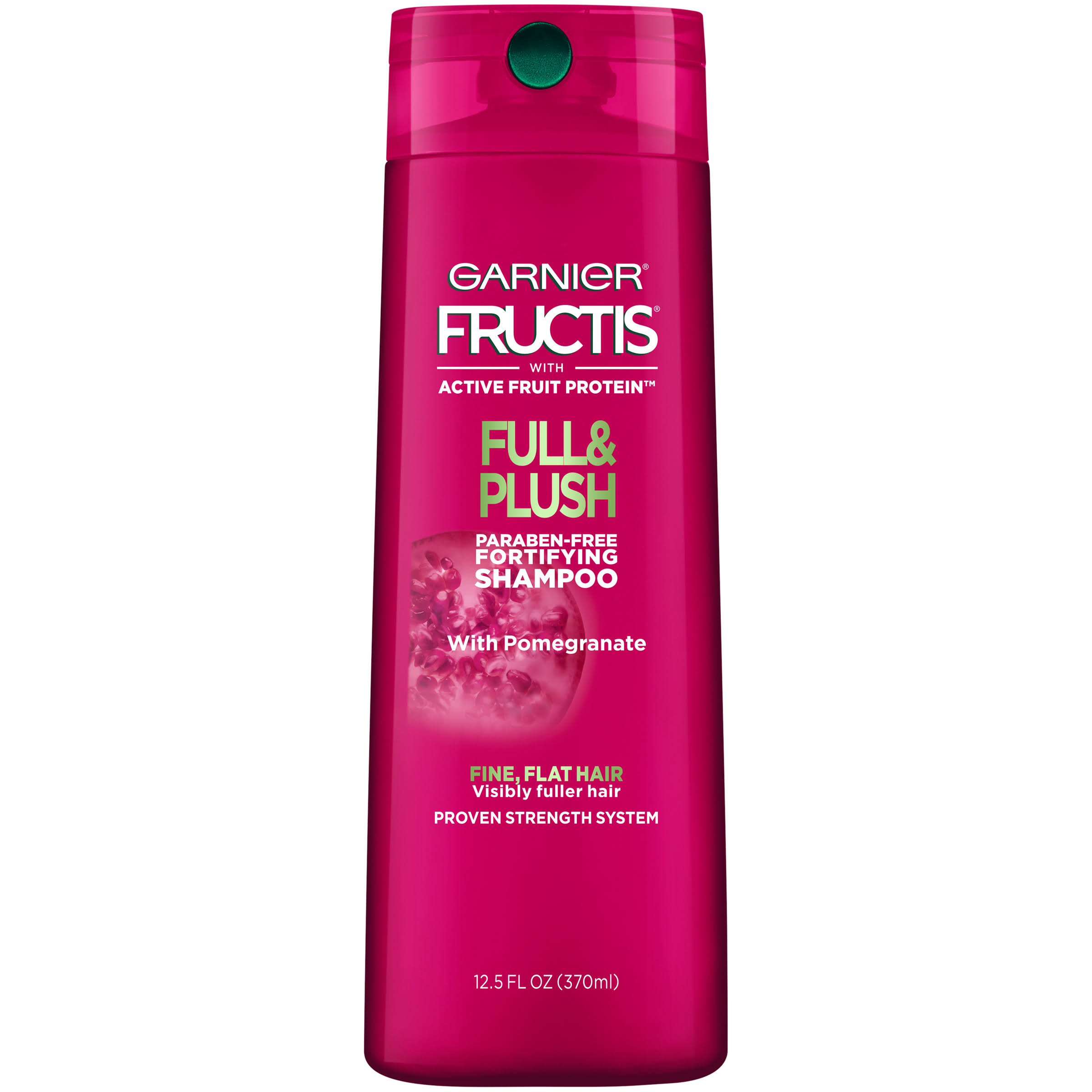 Garnier Hair Care Fructis Full and Plush Shampoo - 370ml
