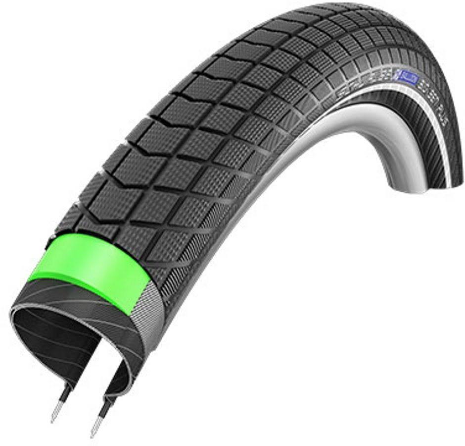 Schwalbe Big Ben Plus HS 439 Cruiser Bike Tire - Wire Bead - 20 x 2.15