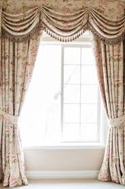Pink Ruffle Curtain Topper by Debutante Austrian Swags Style Swag Valance Curtain Set Pink Peony