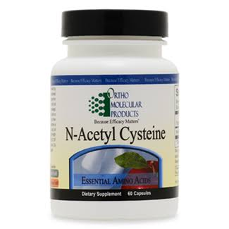 Ortho Molecular Product N-Acetyl Cysteine Supplement - 60 Capsules