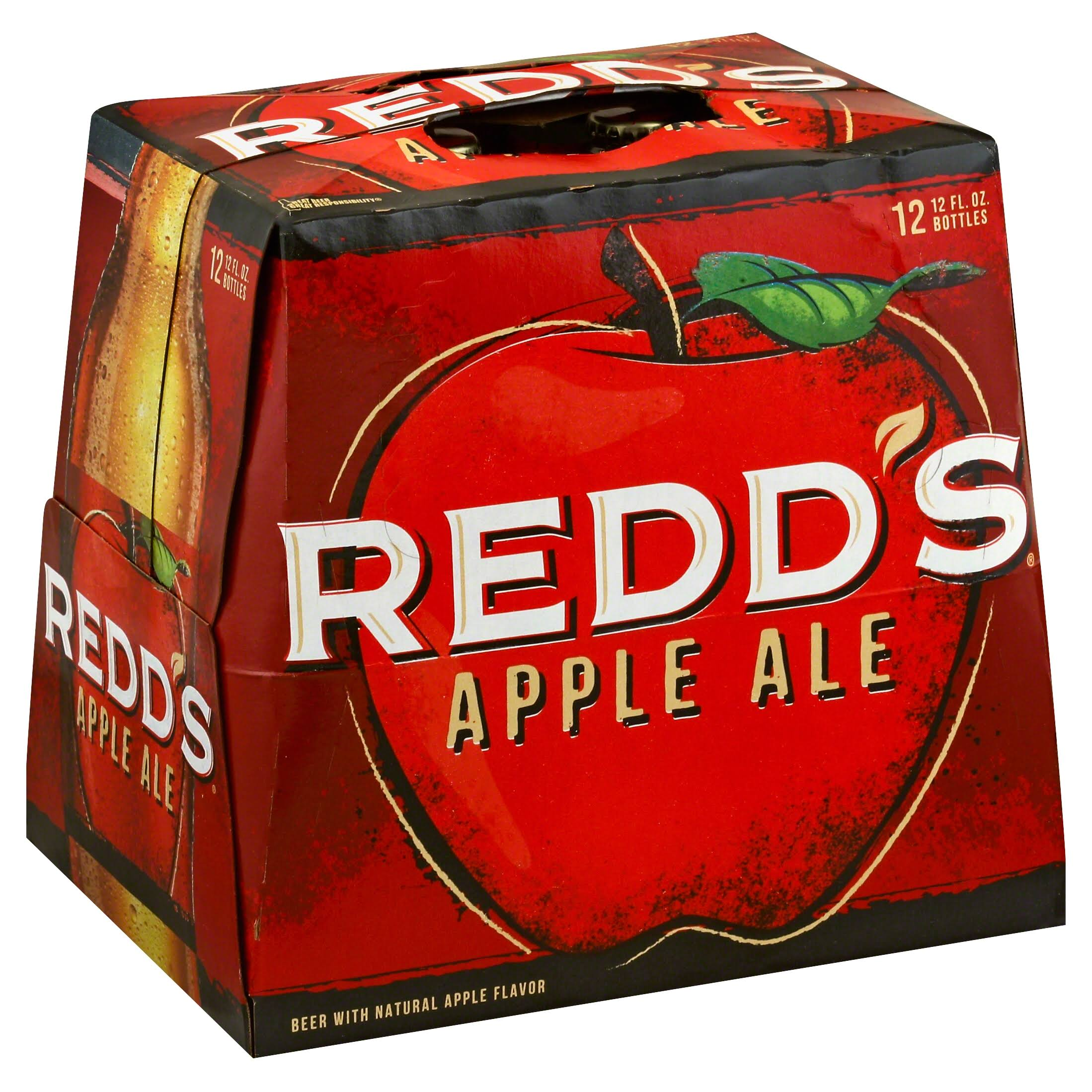 Redd's Apple Ale - 12 Bottles