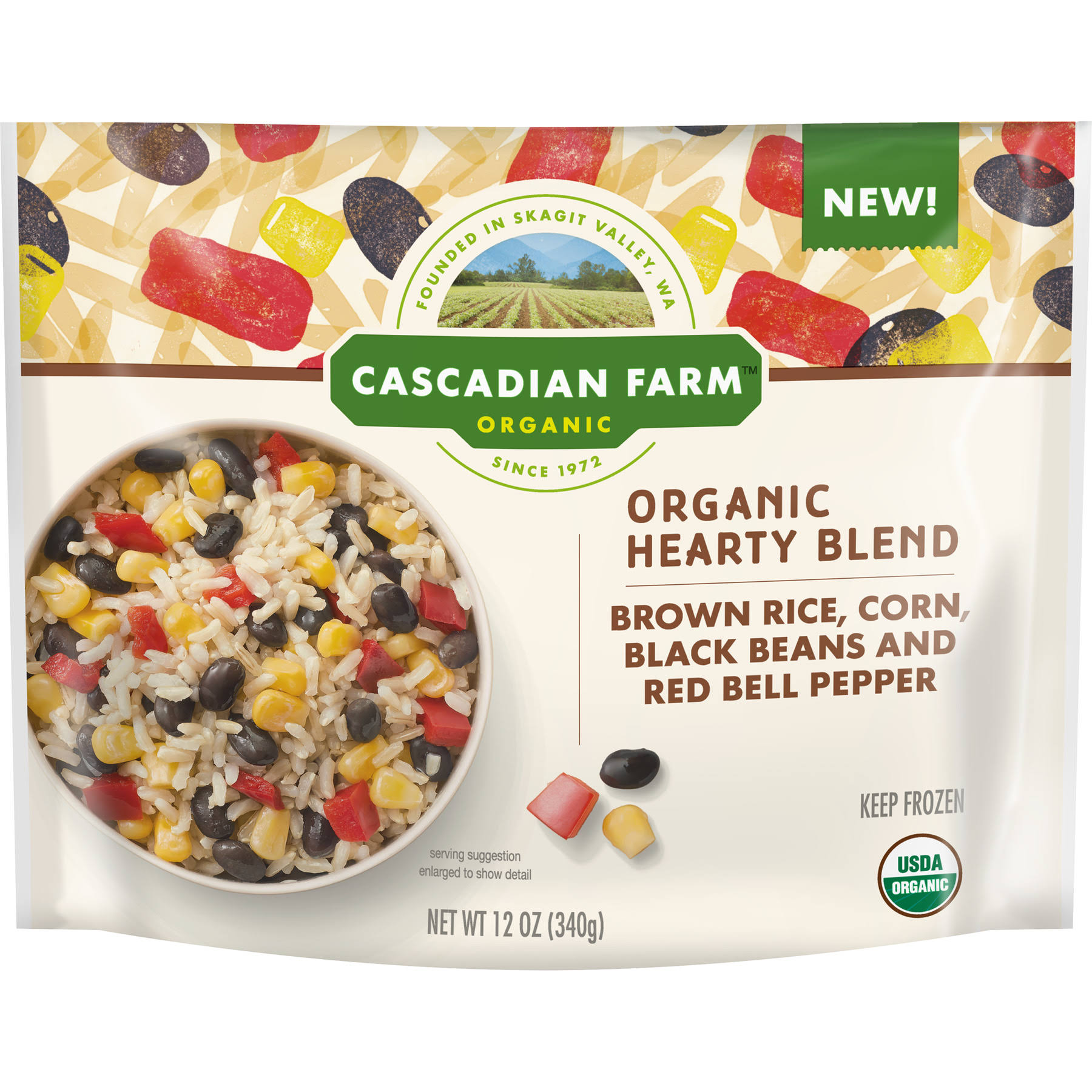 Cascadian Farm Organic Brown Rice Hearty Blend
