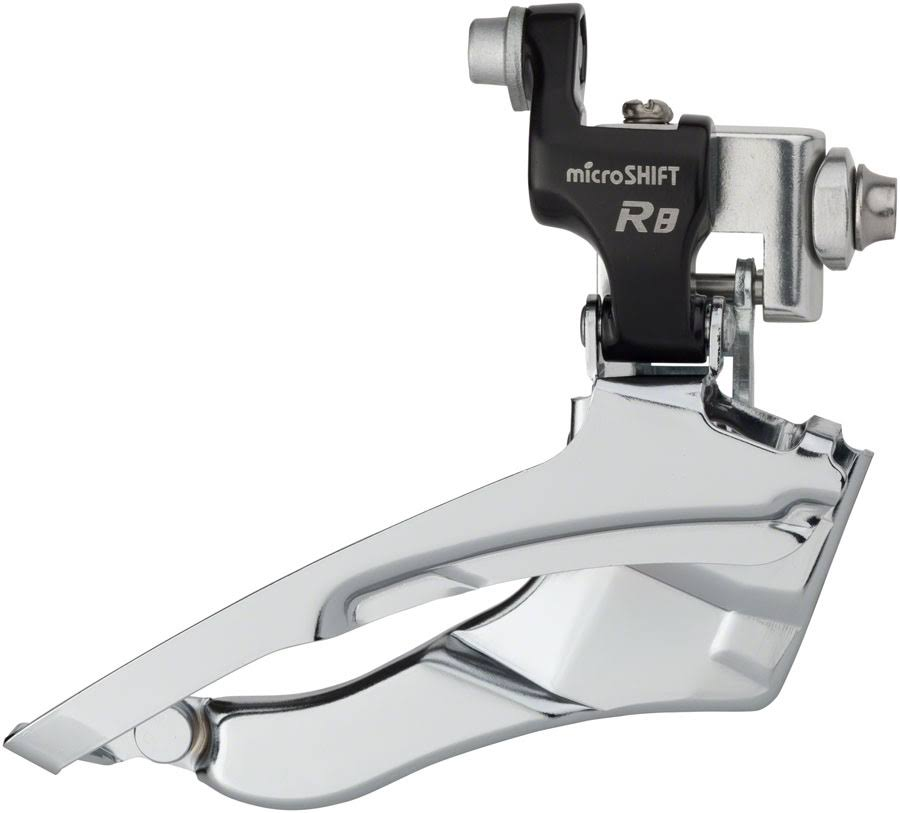 microSHIFT R8 Front Derailleur 7/8-Speed Triple, 50/39/30t, Braze-On, Shimano Co