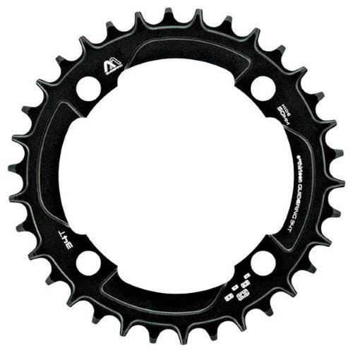 E*thirteen M Profile 10/11 Speed Guide Ring - 30t, 104BCD Narrow Wide, Black