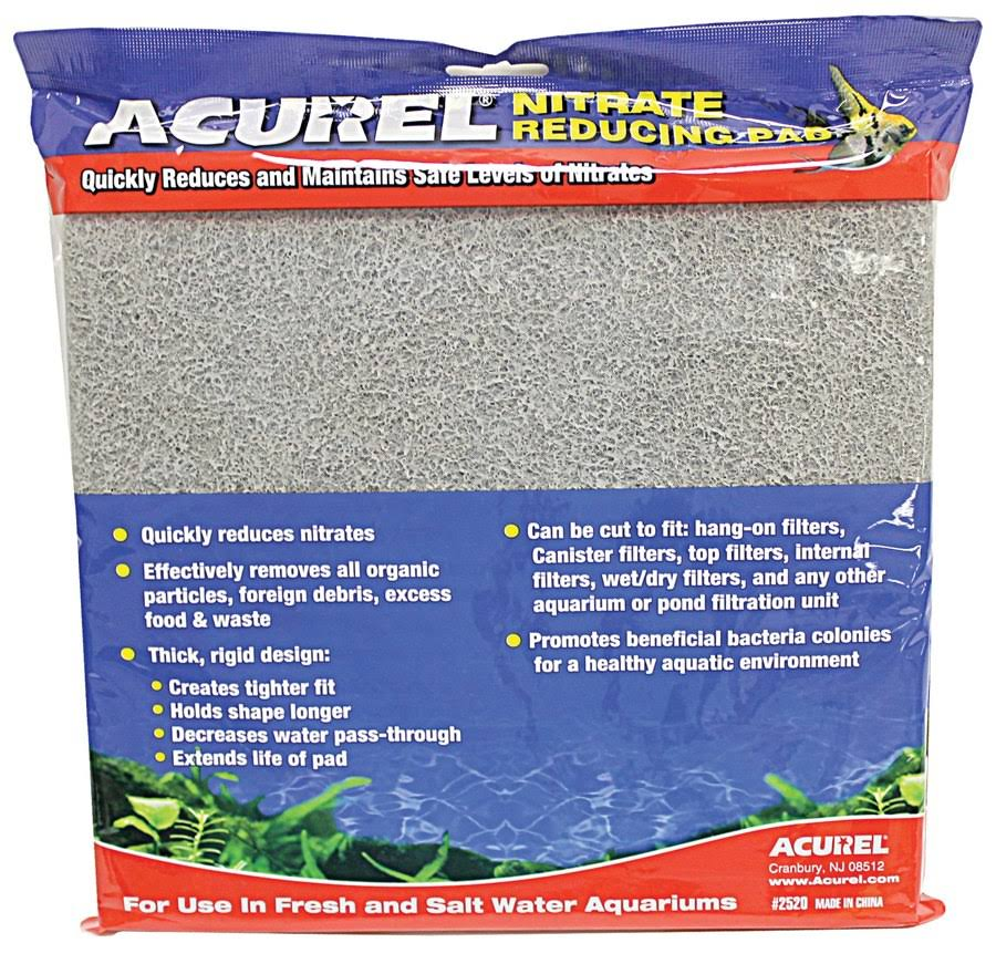 "Acurel Cut to Fit Nitrate Reducing Media Pad - 10"" x 18"""
