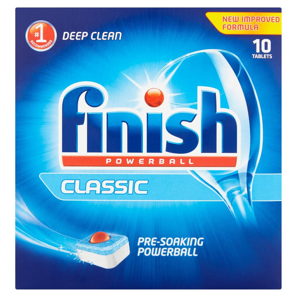 Finish Powerball Classic Pre-Soaking Powerball - 10pk